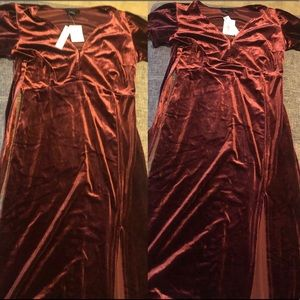 Brand new Sanctuary velour Dress.
